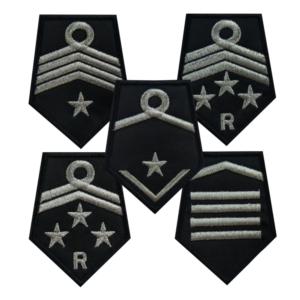 Dystynkcje OSP na kołnierz