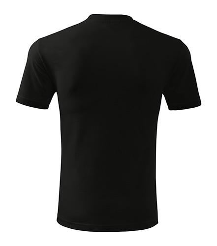 t-shirt tył